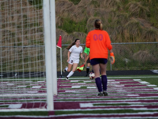 Owen sophomore Mikayla Roseman was the leading goal scorer for the Warlassies this season with 18.
