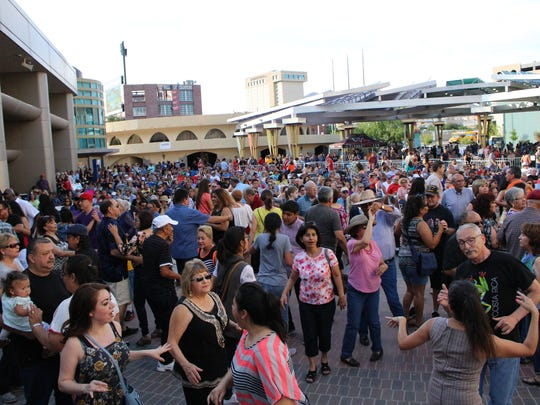 Hundreds of El Pasoans will flock to the weekly concerts as part of Alfresco Fridays.