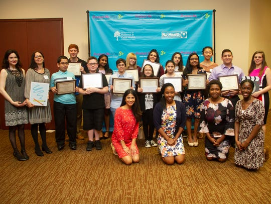 Winners of the sixth annual a contest along with the