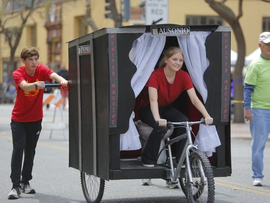The third annual Race of Thrones Crapper Derby brought