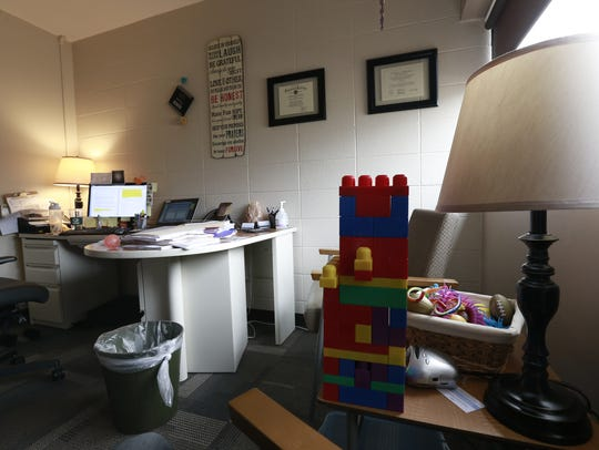 An therapist's office in North Central Health Care
