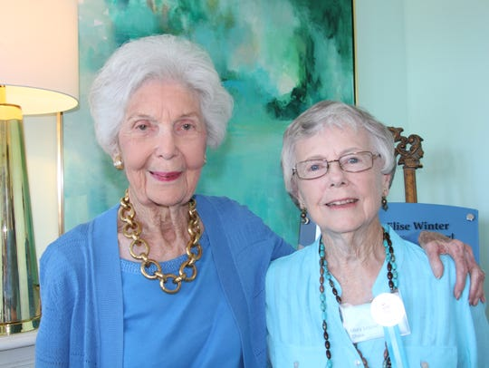 Mary Louise Shaw, right, pictured on May 14, 2017,