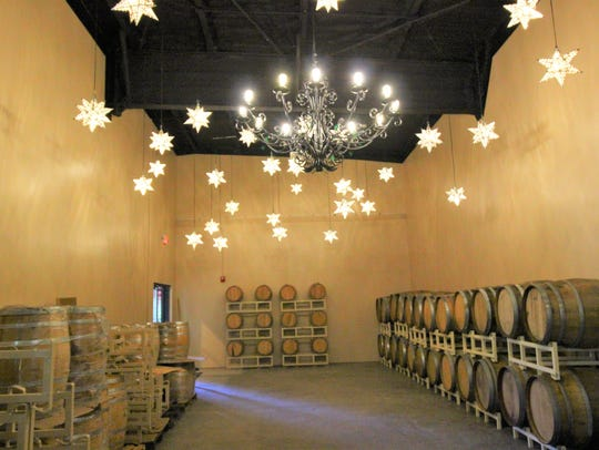 Glenco Distillery's barrel aging room is one the final
