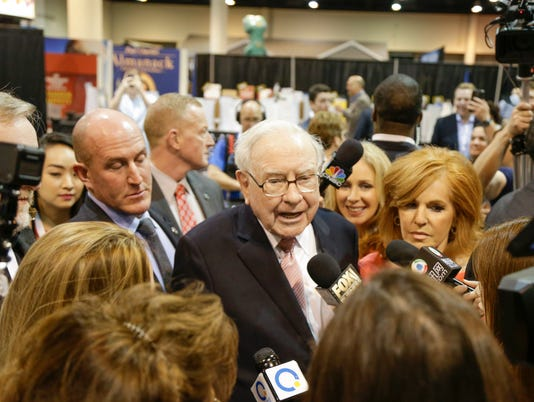 AP BERKSHIRE HATHAWAY SHAREHOLDERS F A USA NE