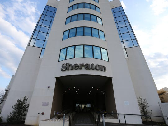 New Castle County wants to purchase the Sheraton Wilmington South Hotel and use it as an emergency shelter.