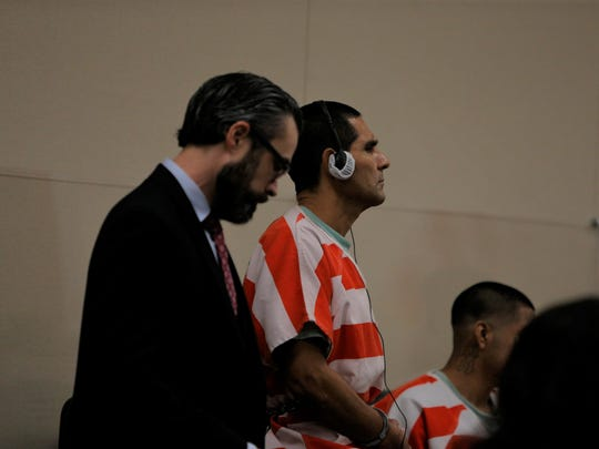 Arsenio Pacheco Leyva appeared in court Tuesday.