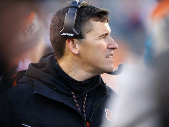 Cincinnati Bengals offensive coordinator Bill Lazor