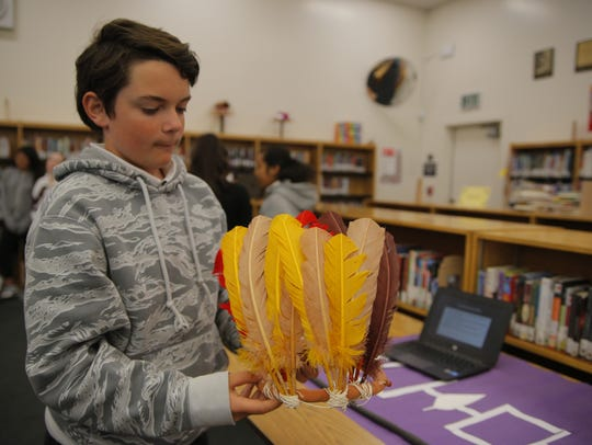 Students at Washington Middle School in Salinas presented
