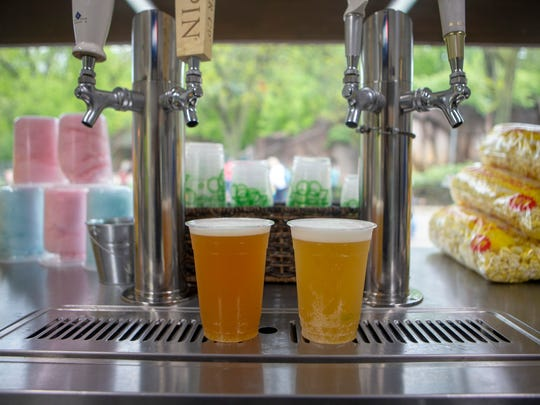 The new Bear Garden at the Milwaukee County Zoo serves a dozen different beers.