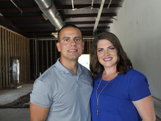 Tony and Melanie Tapia are the owners of Bubbles Drinks,
