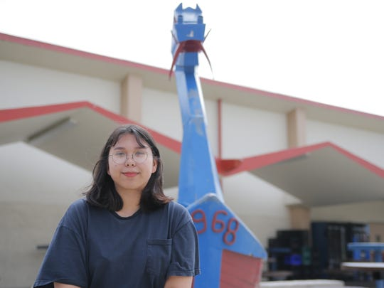Brenda Ehrlich of North Salinas High School hopes to attend the University of Tsukuba in Japan this fall.
