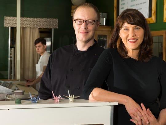 Owners Erik Irmiger and Amanda Trenbeth started Sushi