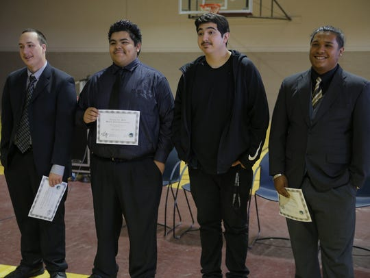 Rancho Cielo's graduates from the Silver Star Youth
