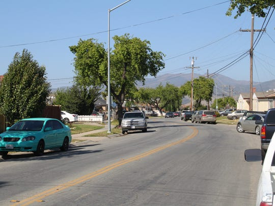 The 500 block of Towt St., where Salinas police found