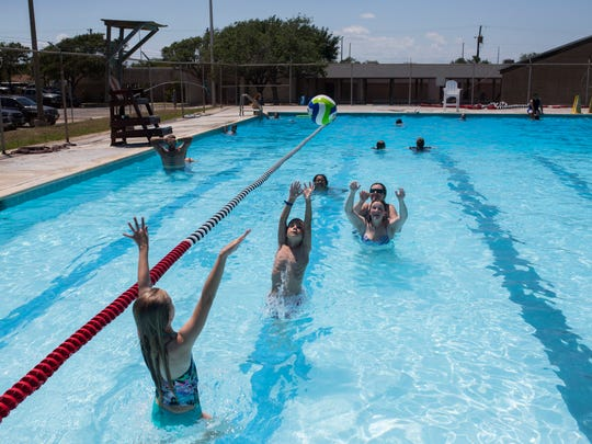 Nueces County Corpus Christi Team Up To Repair Parker Pool