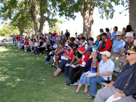 The American Legion Bataan Post 4 had a good turnout for Monday's Memorial Day ceremony at Mountain View Cemetery in Deming, NM.