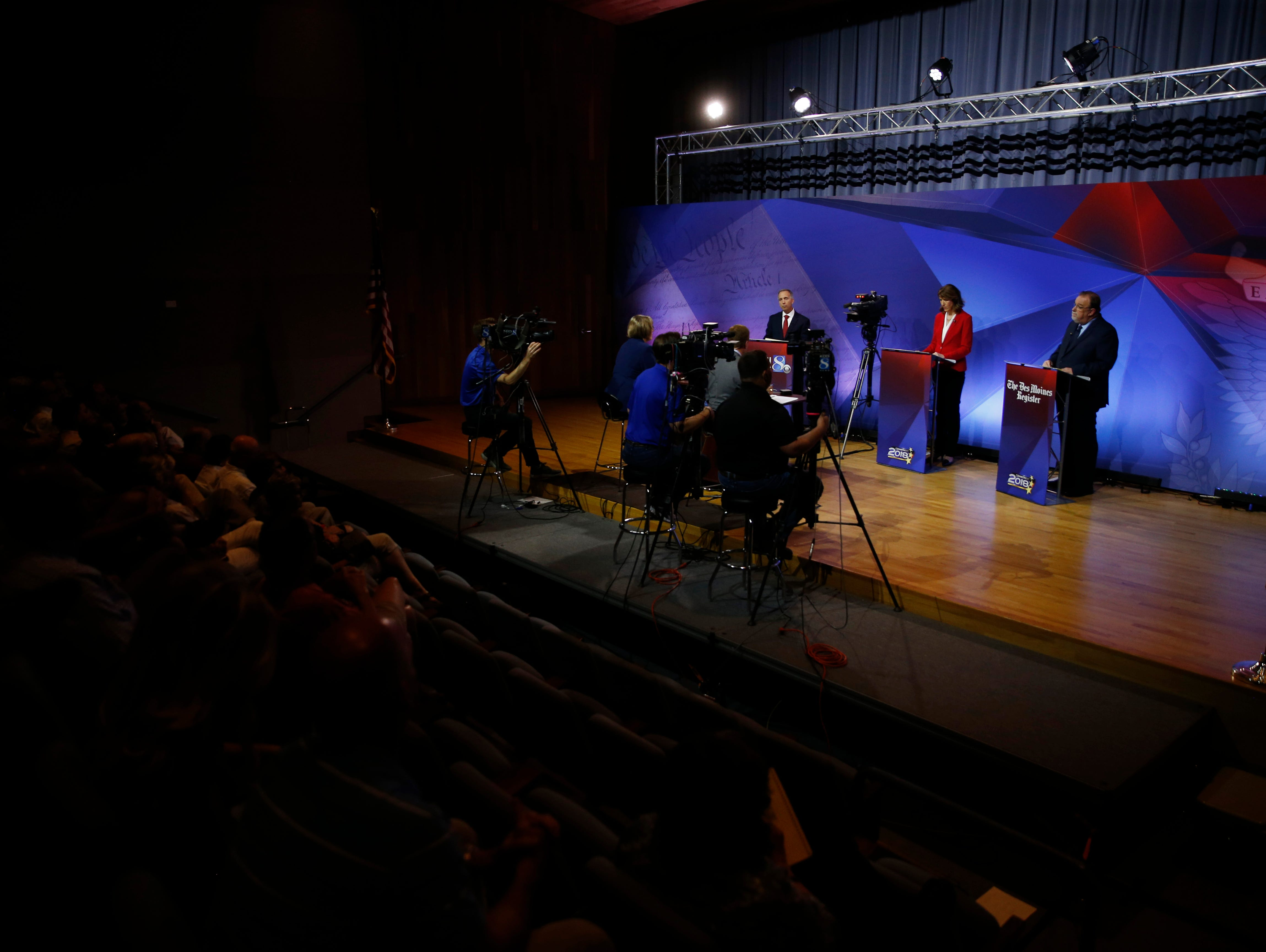 As a special thank you to Insiders, the Register is giving away pairs of tickets to the gubernatorial debate.