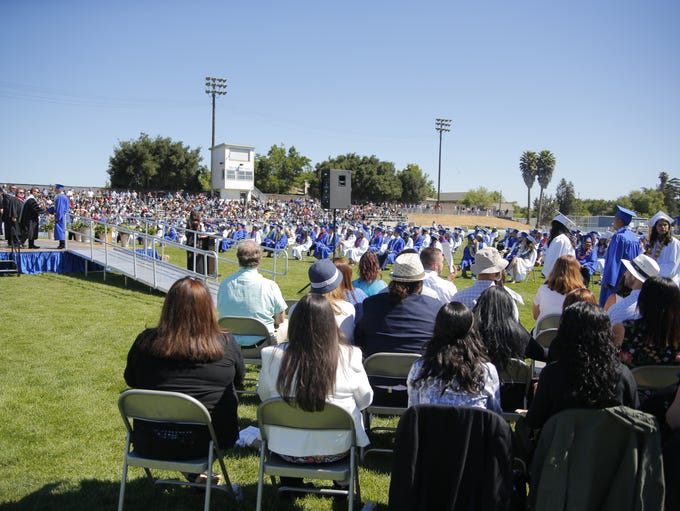 The King City High School graduation took place Friday.