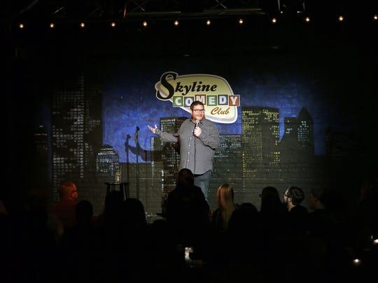 Comedian Jim Flannigan hit the Skyline Comedy Club