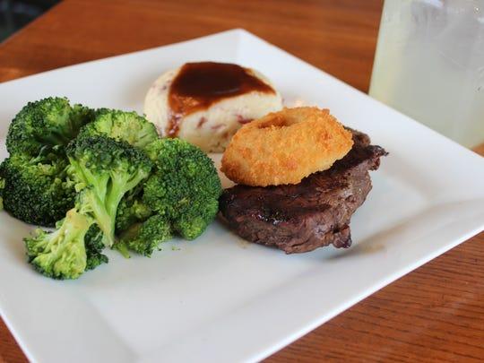 The Quaker Steak & Lube Thunderbird Steak