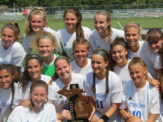 Undefeated Marian accepts the regional championship