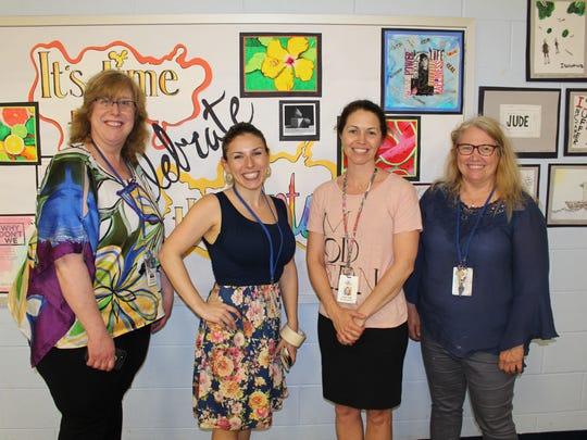Warren Township teachers of Art, Mrs. Meryl Lettire,