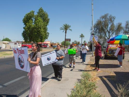 Valley Metro Protest