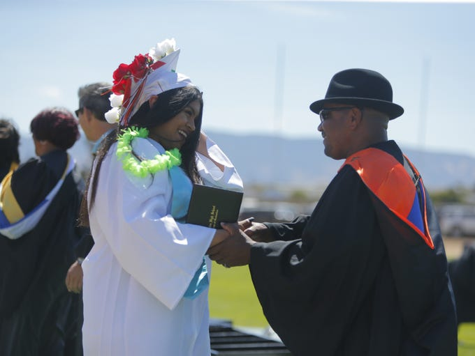 The Gonzales High School class of 2018 had their commencement