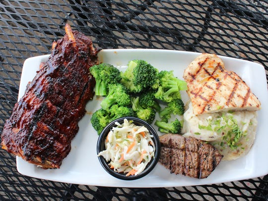 "The Applebee's Father's Day ""feast"" includes a 4-ounce"