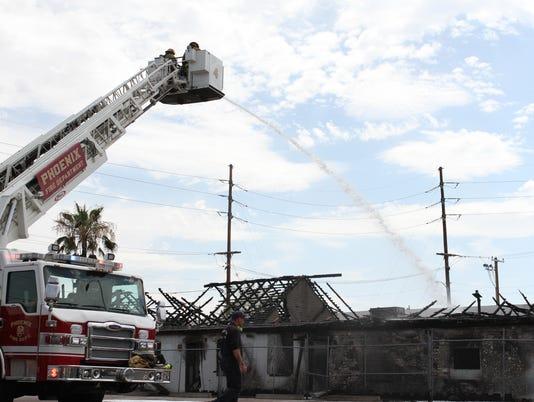 Fire in Phoenix