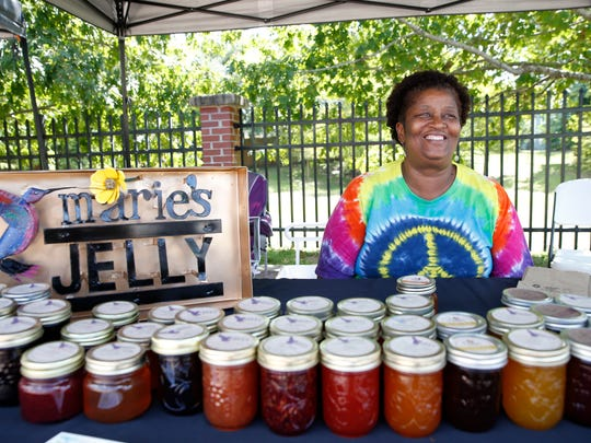 Rose Garrison has been selling her homemade jams, jellies