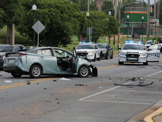 Police are investigating a crash on Florida A&M University's