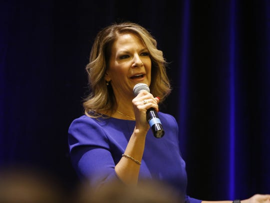 U.S. Senate candidate Kelli Ward of Arizona.