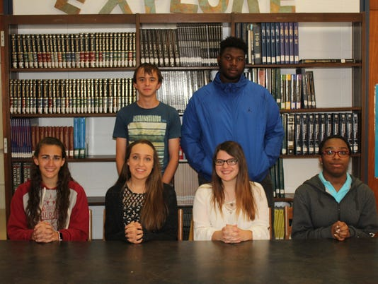 Millville High School Students of the Month May-2018.jpg