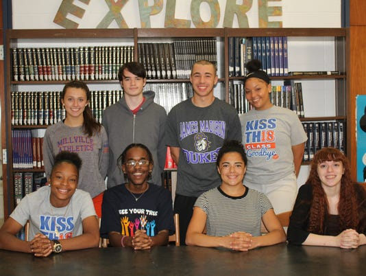 Millville High School Students of the Month-June-2018.jpg