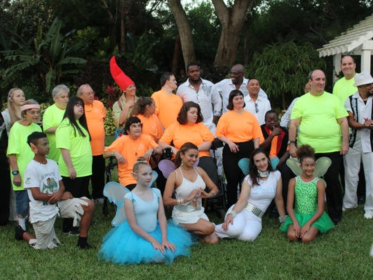 Mystical creatures, The Arc chorus and Gypsy Lane Band