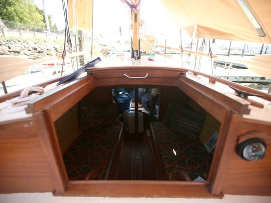 The berth of the sailing vessel the Felicity Ann at the Poulsbo Marina on Tuesday.