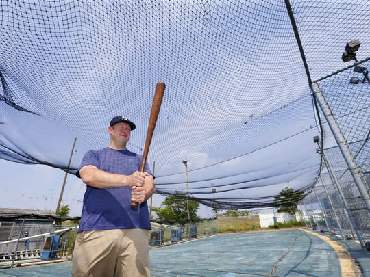 Doug Grant, owner of Keansburg Batting Cages at 275 Beachway Ave. in Keansburg.
