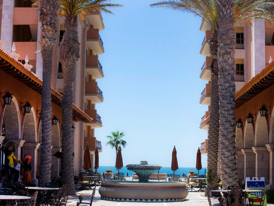 Sonoran Sun Resort is ocean front property on Sandy