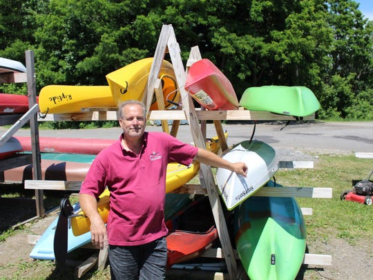 Peter Abele, 59, is the owner of Erie Canal Boat Company.