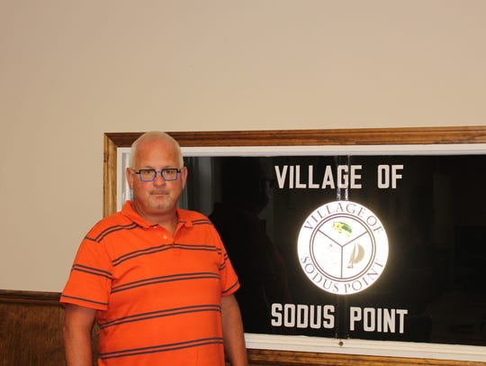 Village of Sodus Point Mayor Dave McDowell says business