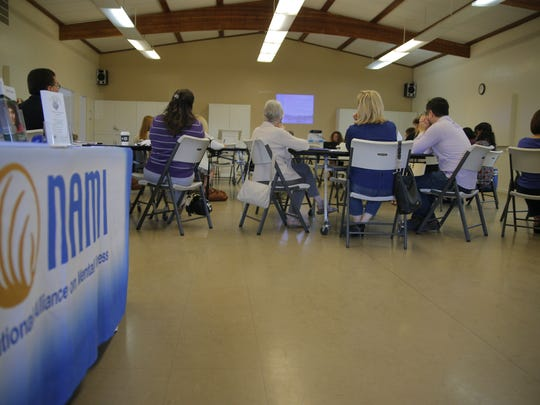 Faith leaders and community members gathered Wednesday for NAMI training on mental illness.