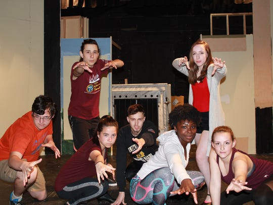 Cumberland Players' production of the musical comedy