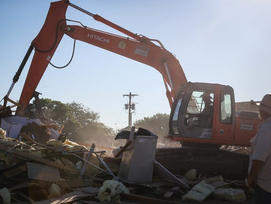 Victory Christian Church Center building demolished