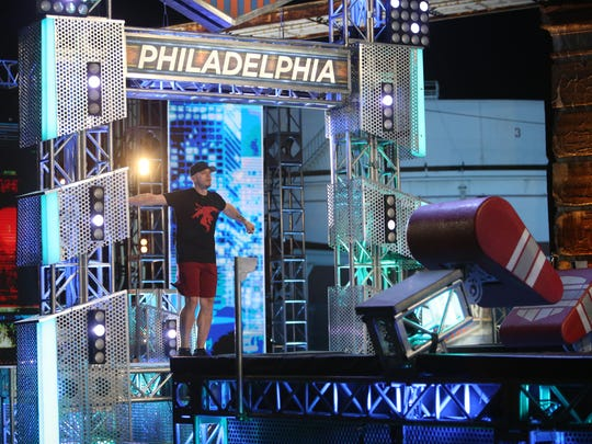 Eric Totten competes in the tenth season of NBC's American Ninja Warrior.