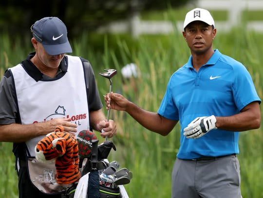 There is still hope that Tiger Woods will play in the Detroit PGA Tour event but no official decision has been made.