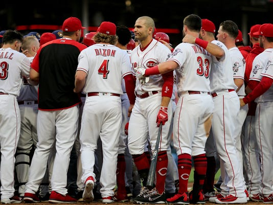 062818 REDS, Cincinnati Reds baseball, reds, reds baseball, national league baseball, nl central baseball