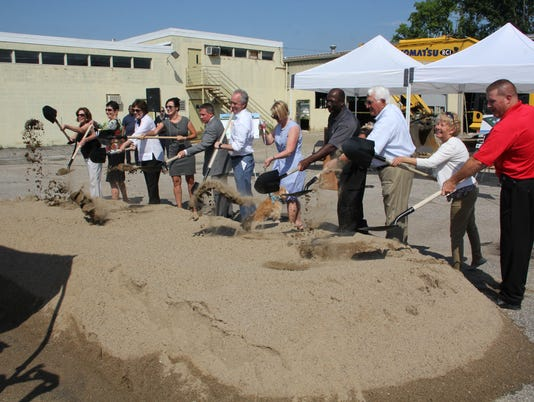 Animal Shelter groundbreaking