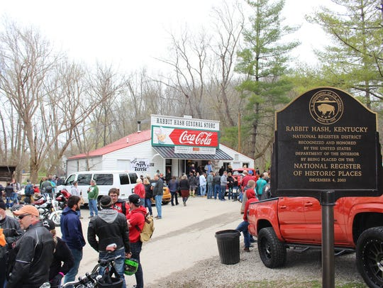 The Rabbit Hash General Store opened for business on