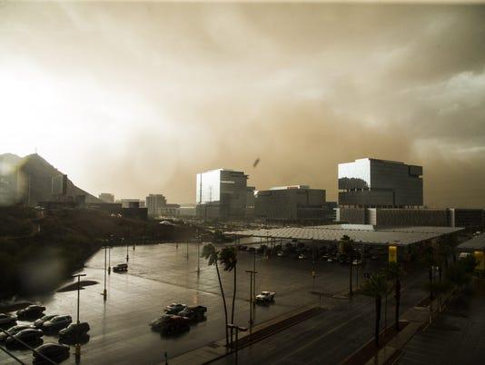 Monsoon storm July 9